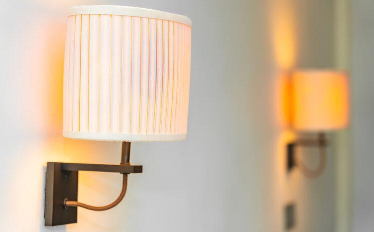 Montaj lampi cu senzori