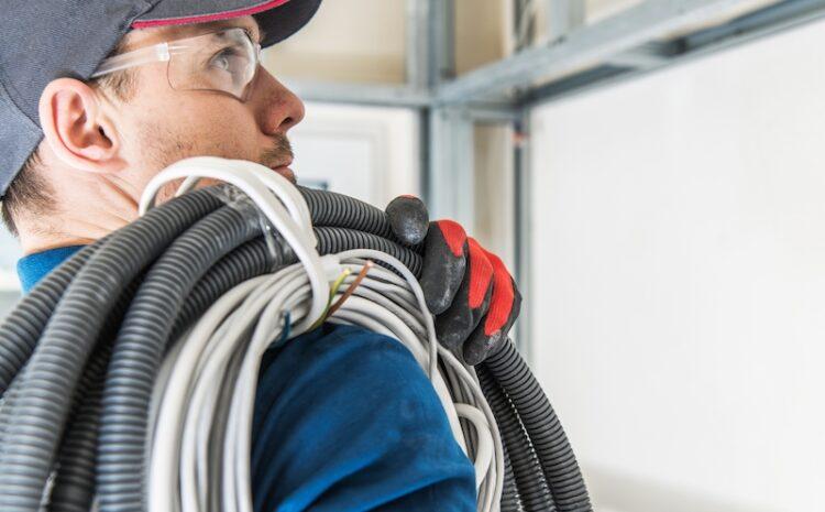 Instalarea cablurilor electrice in case si apartamente