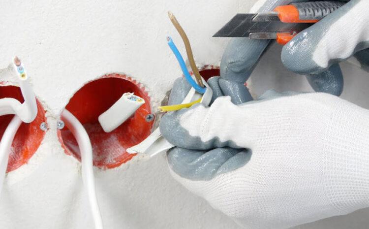 Schimbarea instalatiei electrice